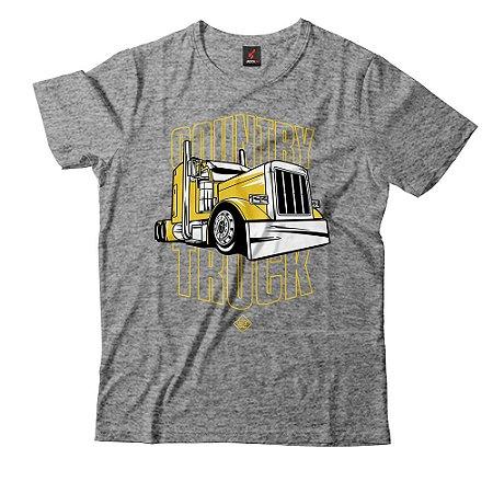 Camiseta Eloko Country Truck - Amarelo
