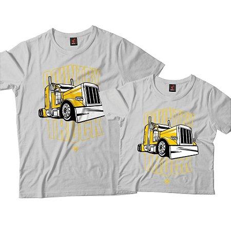 Kit Pai e Filho - Country Truck Amarelo