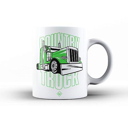 Caneca Eloko Country Truck Verde