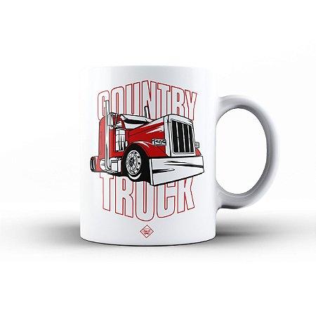 Caneca Eloko Country Truck Vermelho