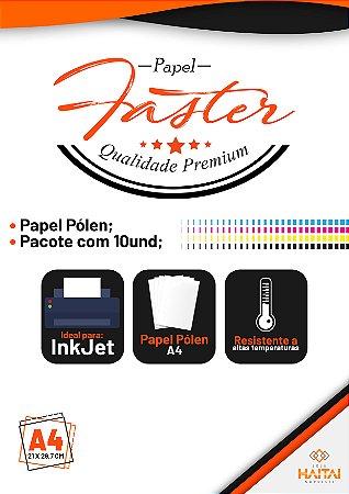 Papel Vinil Adesivo Ink Jet Pólen - Pacote com 10 unid.