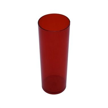 Copo Long Drink - Vermelho Neon