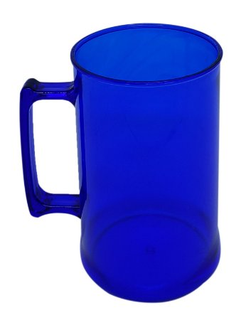 Caneca para Chopp 450ml - Azul Neon