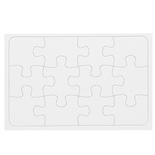 Quebra - Cabeça 12 peças c/ 5 unidades