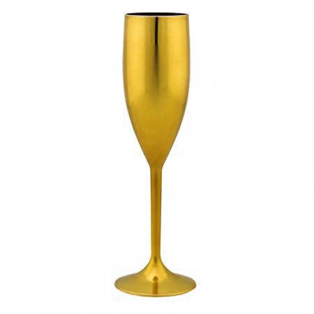 Taça Metalizada - Dourada