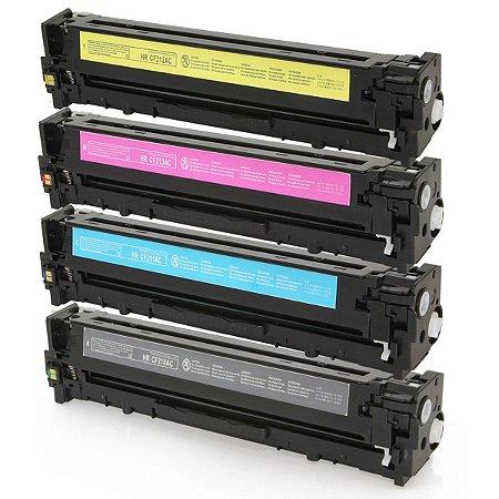 Kit Tonner HP M252dw - 4 Cores