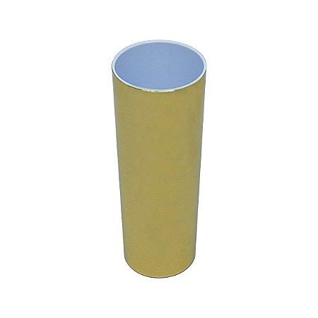 Copo Long Drink Metalizado - Dourado