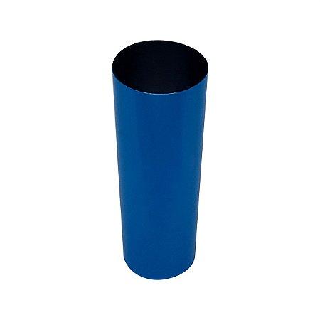 Copo Long Drink Metalizado - Azul