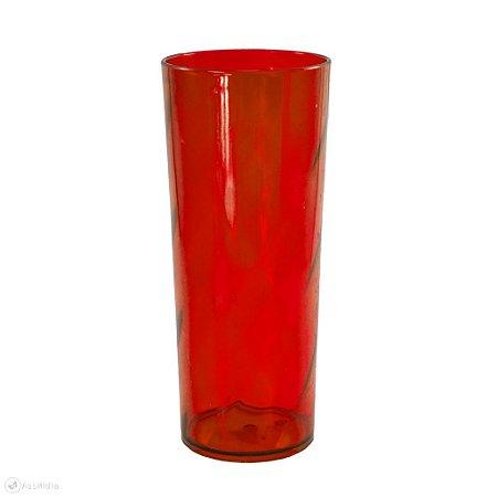 Copo Long Drink Twister - Vermelho