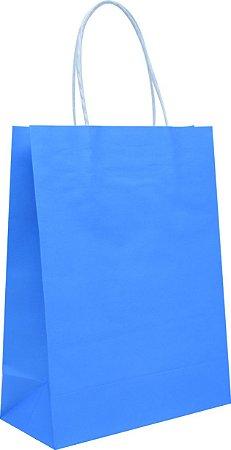 Sacola de Papelão - Azul