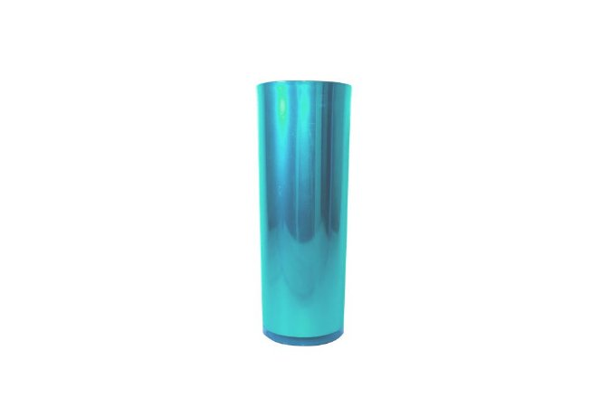 Copo Long Drink Metalizado - Azul Tiffany