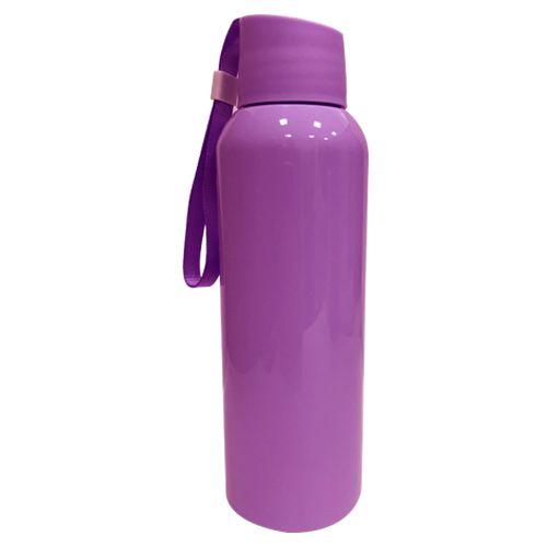 Squeezer Plástico 500ml com Cordão - Lilás