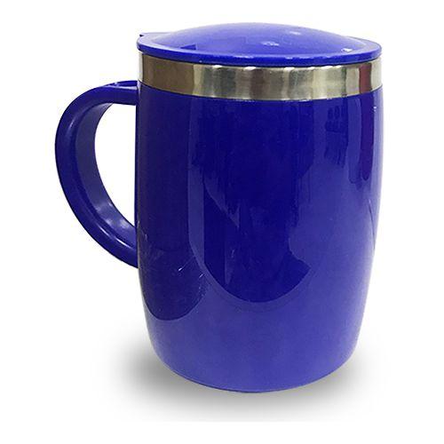 Caneca Isotérmica 450ml - Azul