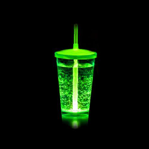 Copo Euphoria Twister 700ml c/ LED - Verde Neon