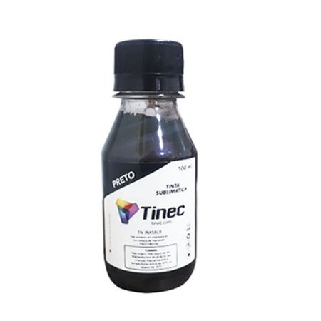 TINTA SUBLIMÁTICA TINEC 100ml - BLACK