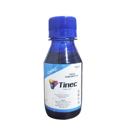 TINTA SUBLIMÁTICA TINEC 100ml - CYAN