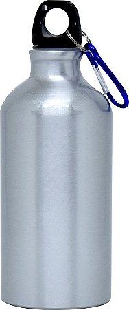 Squeeze com Chaveiro 500ml - Prata