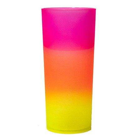 Copo Long Drink Jateado - Degradê