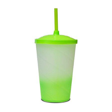 Copo Euphoria Twister Jateado 700ml - Verde