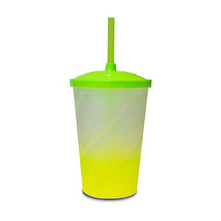 Copo Euphoria Twister Jateado 700ml - Verde Limão