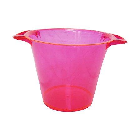 BALDE PARA GELO ELEGANCE 5L - ROSA PINK