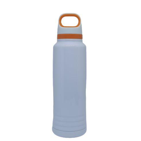 Garrafa Térmica c/ alça laranja -  600ML