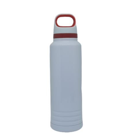 Garrafa Térmica c/ Alça Vermelha - 600ml