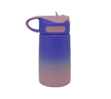 Squeeze Bico Retratil 400ML bicolor (ROSA/LILAS)