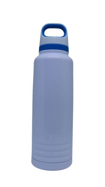 Garrafa Térmica c/ alça azul - 600ML