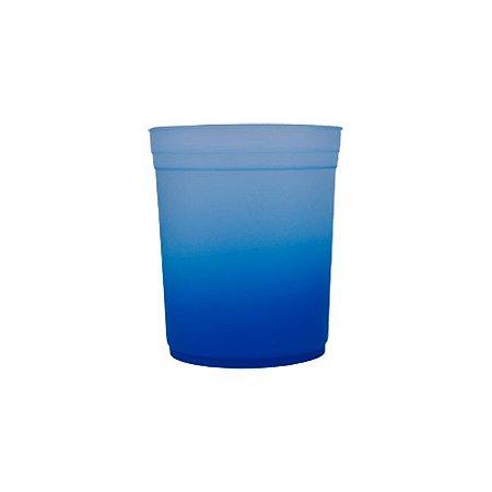 Balde de Pipoca Jateado 1,4L - Azul