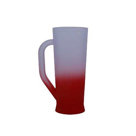 Caneca Long Jateada - Vermelha