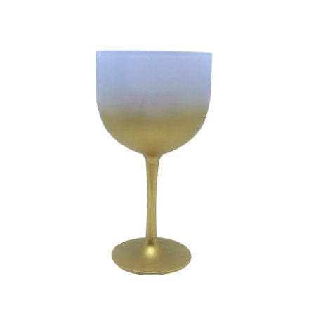 Taça de Gin 500ml - Jateada Dourada