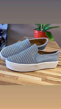 Tênis slip on Jeans Azul Claro Hotfix - 503- A
