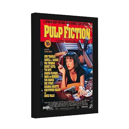 Quadro Decorativo Pulp Fiction Cartaz