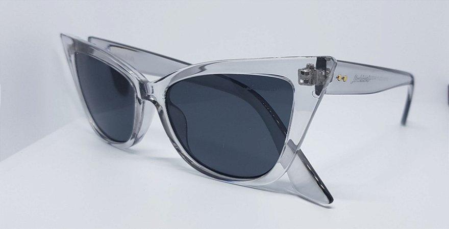 7944558052b41 óculos retro gatinho transparente - Occhineri Jóias
