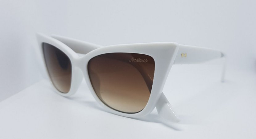 e6f743f9e óculos retro gatinho branco - Occhineri Jóias, óculos e relógios