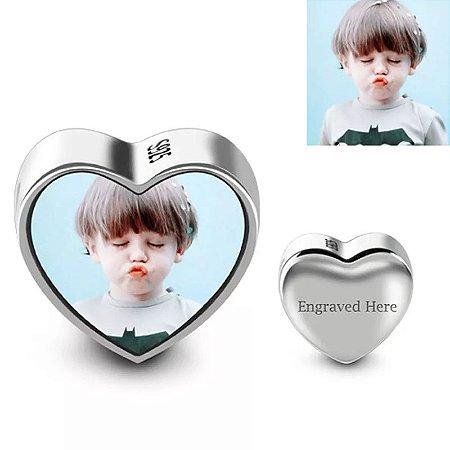 Berloque Personalizado Coração