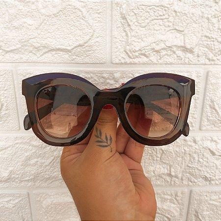 Óculos Jane Marrom