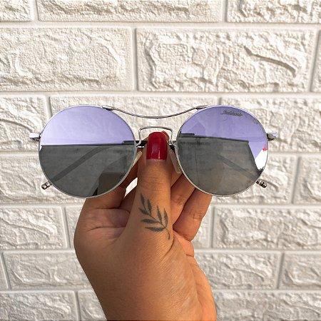 Óculos Jazz Prata