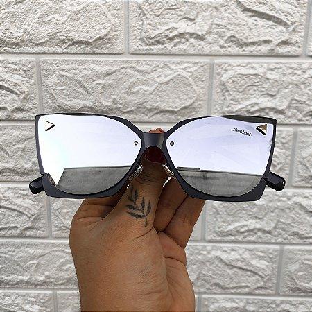 Óculos Alice Preto Espelhado