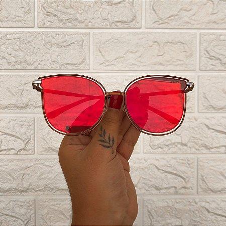 Óculos Isís Vermelho