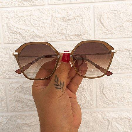 Óculos Karine Marrom