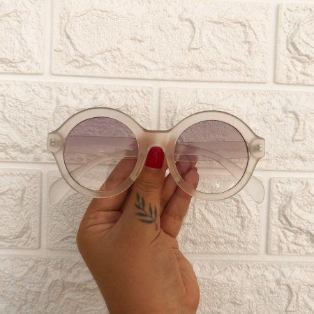 Óculos Bruna Transparente