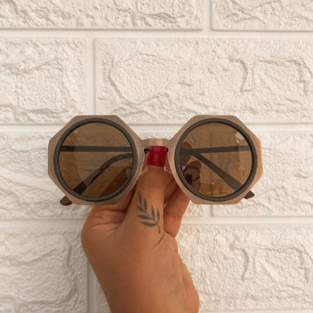 Óculos Brina Marrom