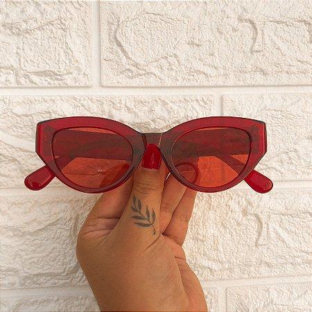 Óculos Kendall Vermelho
