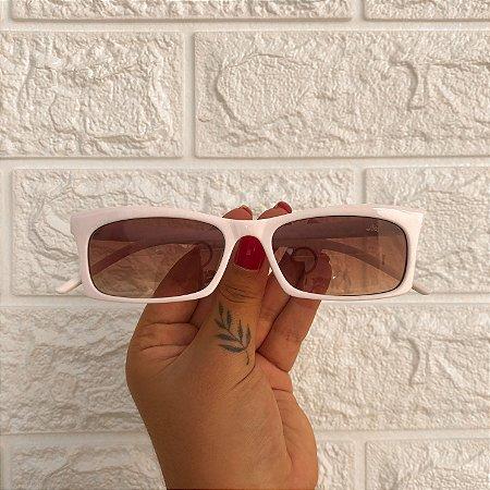 Óculos Kim Branco