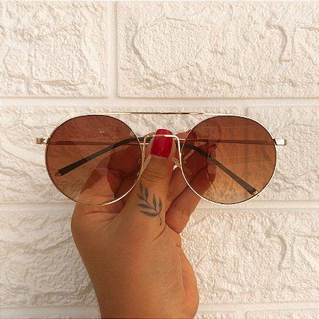 Óculos Nath Marrom