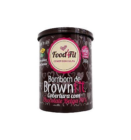 Amor em Lata Bombom de BrownFit Chocolate Belga 70% (300g) - Food4fit