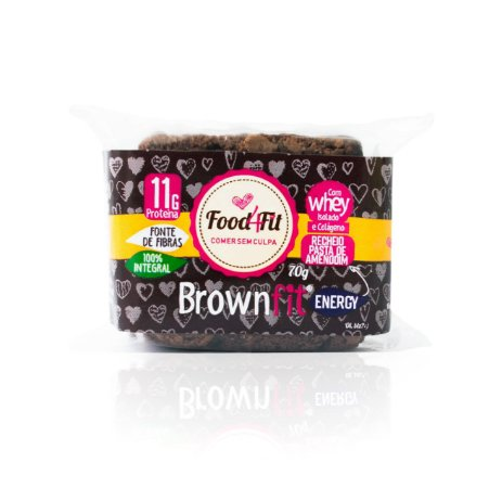Brownie Fit Energy (70g) - Food4fit