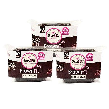 Combo Brownie Low Carb sem açúcar- Food4fit